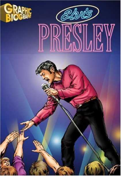 Elvis Presley Books - Elvis Presley, Graphic Biography (Saddleback Graphic Biographies)