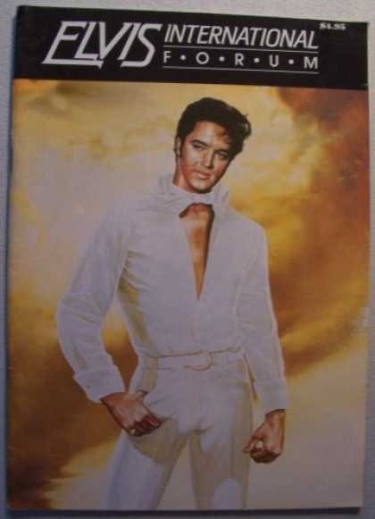 Elvis Presley Books - ELVIS International Forum [Elvis Presley] First Quarter 1989 (Vol. 2 No. 1)