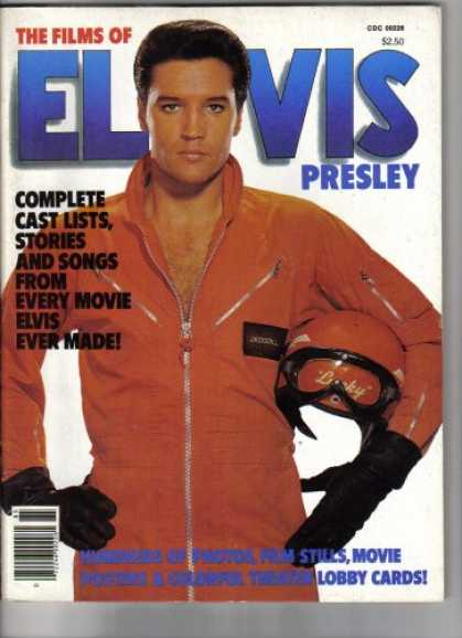 Elvis Presley Books - The Films Of Elvis Presley