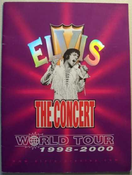 Elvis Presley Books - ELVIS, The Concert, World Tour 1998-2000 [Elvis Presley] (Presented by SEG Event