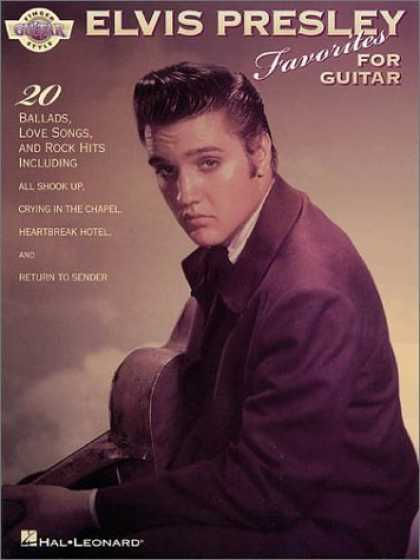 Elvis Presley Books - Elvis Presley for Fingerstyle Guitar