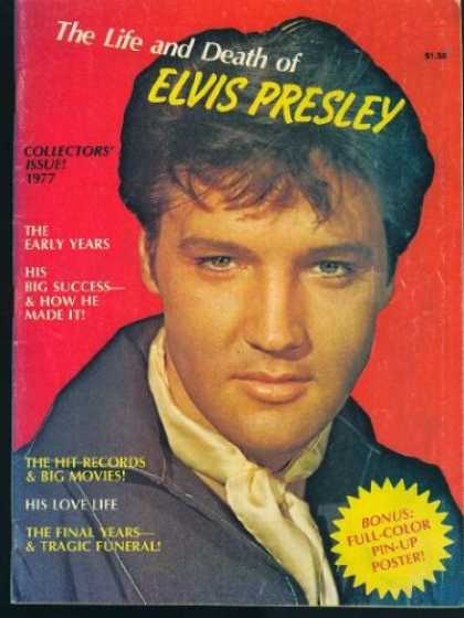 Elvis Presley Books - The Life and Death of Elvis Presley