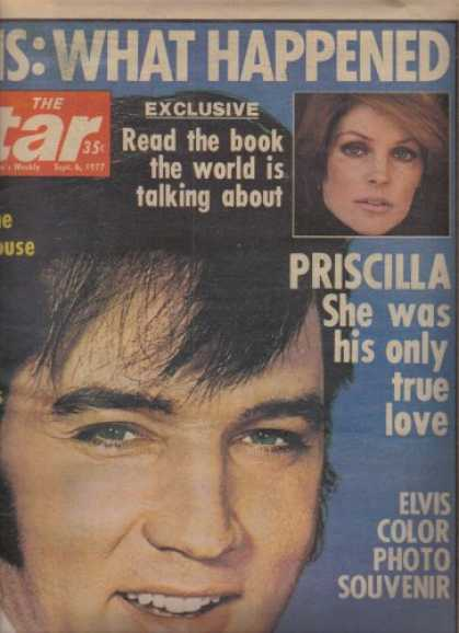 Elvis Presley Books - The Star Magazine Featuring Elvis Presley, Sept. 6, 1977