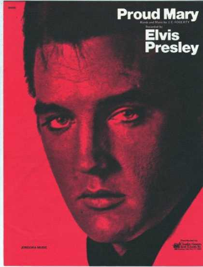 Elvis Presley Books - Proud Mary Recorded by Elvis Presley