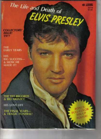 Elvis Presley Books - The Life and Death of Elvis Presley, Collector's Issue 1977 (The Early Years, Hi