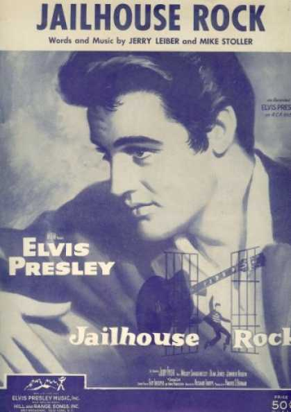 Elvis Presley Books - Jailhouse Rock (Cover: Elvis Presley)