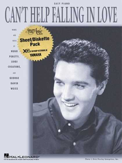 Elvis Presley Books - Can't Help Falling in Love