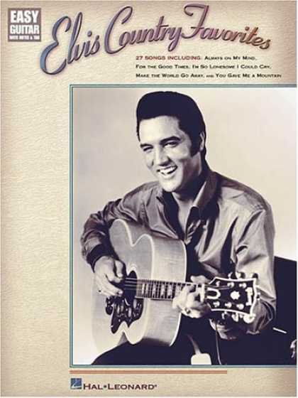 Elvis Presley Books - Elvis Country Favorites (Easy Guitar with Notes & Tab)