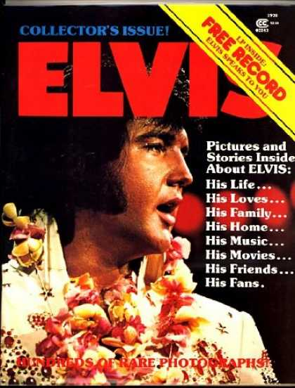 Elvis Presley Books - Elvis Collectors' Issue 1978