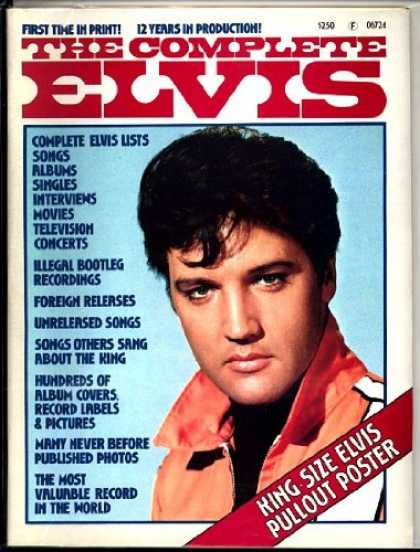 Elvis Presley Books - The Complete Elvis
