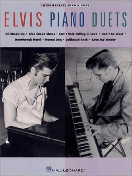 Elvis Presley Books - Elvis Piano Duets
