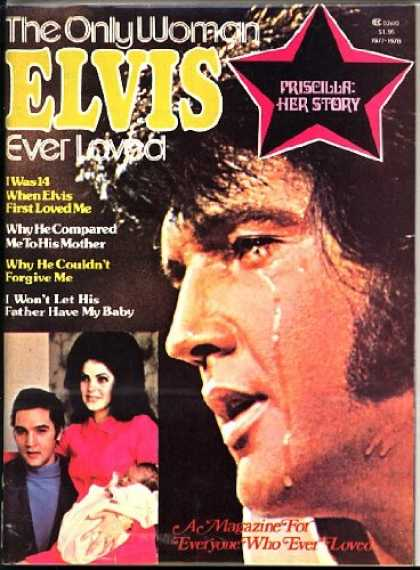 Elvis Presley Books - The Only Woman Elvis Ever Loved Priscilla Her Story