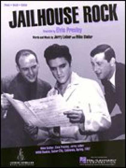 Elvis Presley Books - Jailhouse Rock (Piano Vocal, Sheet Music)