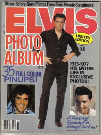 Elvis Presley Books - Elvis Photo Album