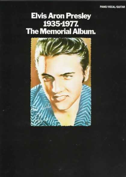 Elvis Presley Books - Elvis Aron Presley 1935-1977: The Memorial Album
