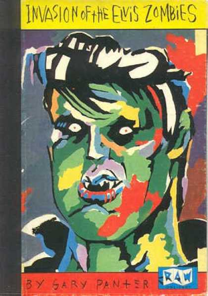 Elvis Presley Books - Invasion of the Elvis zombies: By Gary Panter (Raw one-shot)