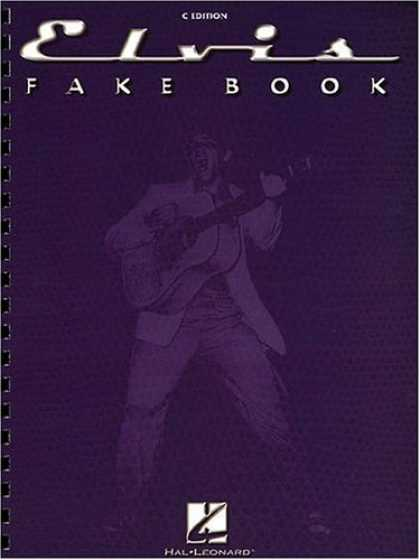 Elvis Presley Books - The Elvis Fake Book