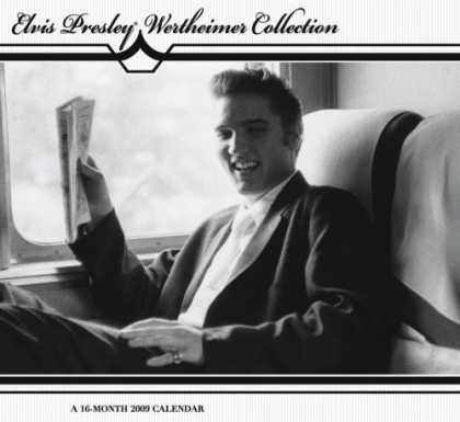Elvis Presley Books - Elvis Presley Wertheimer Collection 2009 Calendar