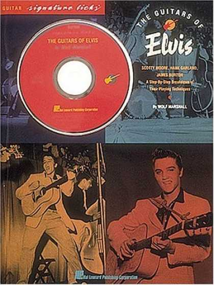 Elvis Presley Books - The Guitars of Elvis