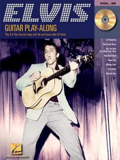 Elvis Presley Books - Elvis Presley: Guitar Play-Along Volume 26 (Guitar Playalong)