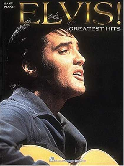 Elvis Presley Books - Elvis! - Greatest Hits for Easy Piano