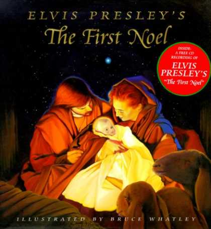 Elvis Presley Books - Elvis Presley's The First Noel