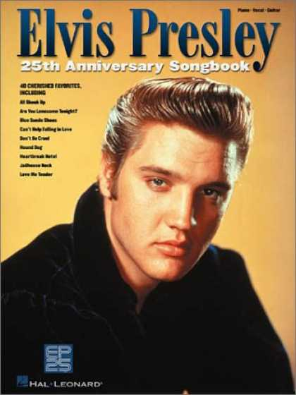 Elvis Presley Books - Elvis Presley 25th Anniversary Songbook