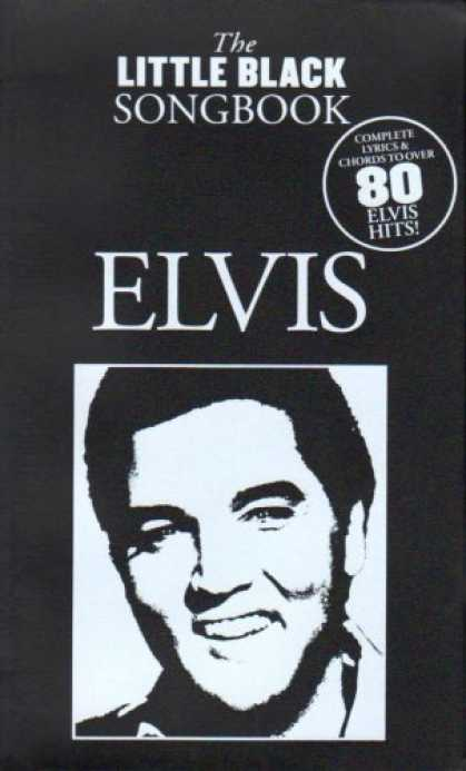 Elvis Presley Books - The Little Black Songbook Elvis Presley