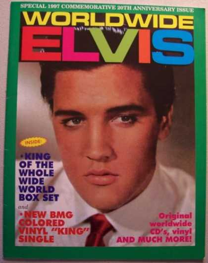 Elvis Presley Books - Worldwide ELVIS, Special 1997 Commemorative 20th Anniversary Issue [Elvis Presle
