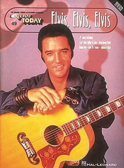 Elvis Presley Books - Elvis, Elvis, Elvis: E-Z Play Today Volume 49