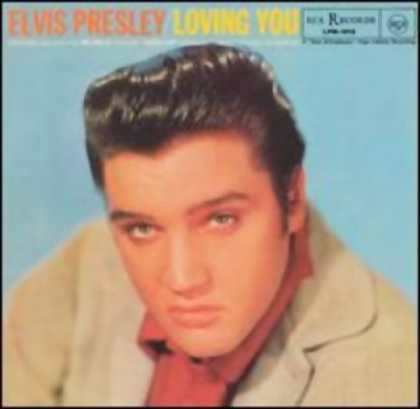 Elvis Presley Books - Loving You - Elvis Presley Sings Songs from Hal Wallis' Production Loving You