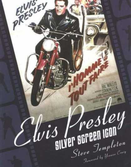 Elvis Presley Books - Elvis Presley: Silver Screen Icon: A Collection of Movie Posters