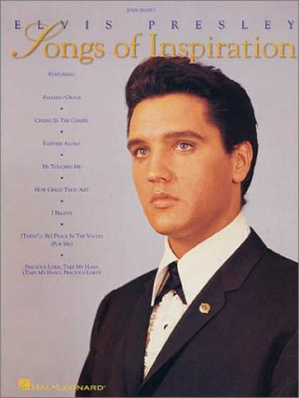 Elvis Presley Books - Elvis Presley - Songs of Inspiration