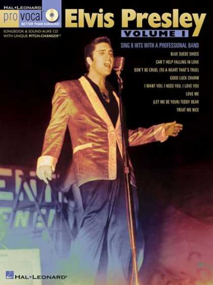 Elvis Presley Books - Elvis Presley - Volume 1: Pro Vocal Men's Edition Volume 10 (Book & CD)