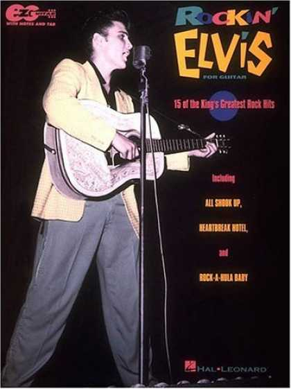 Elvis Presley Books - Rockin' Elvis for Easy Guitar*