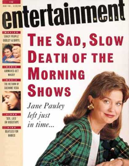 Entertainment Weekly - The Slow Death of the Morning Shows