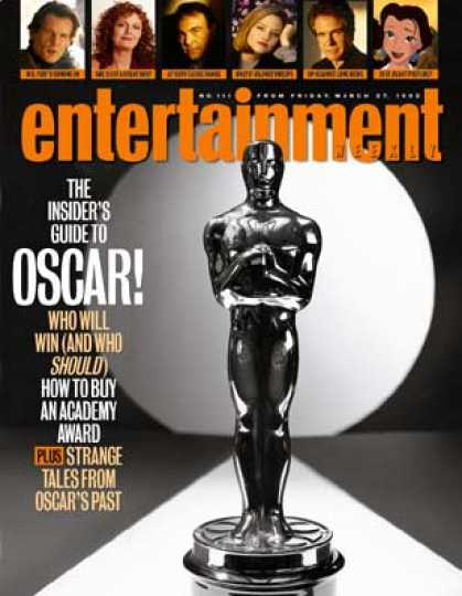 Entertainment Weekly - Oscar's Naked Truth