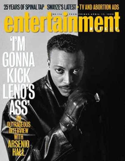 Entertainment Weekly - Arsenio Hall Gets Down To Busyness