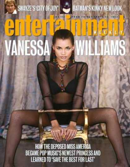 Entertainment Weekly - Vanessa On Top