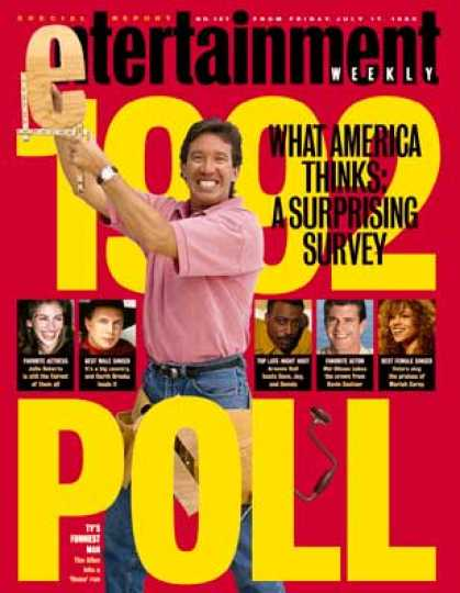 Entertainment Weekly - 1992 Poll