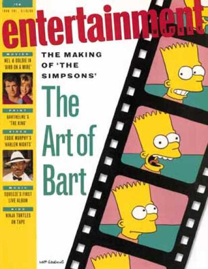 "Entertainment Weekly - ""The Simpsons"" Hit the Stores"