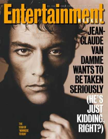 Entertainment Weekly - The Career Makeover of Jean-claude Van Damme