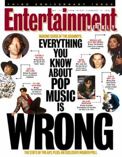 Entertainment Weekly - Start Making Sense (in Pop, Old Rules Can't Explain the New)