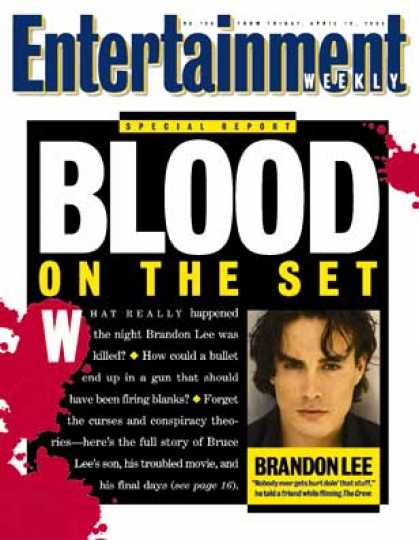 Entertainment Weekly - The Brief Life and Unnecessary Death of Brandon Lee