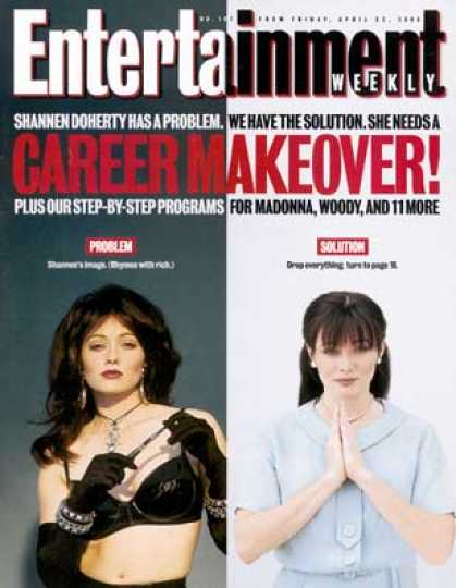 Entertainment Weekly - Celebrity Hell Shannen Doherty Feels the Burn