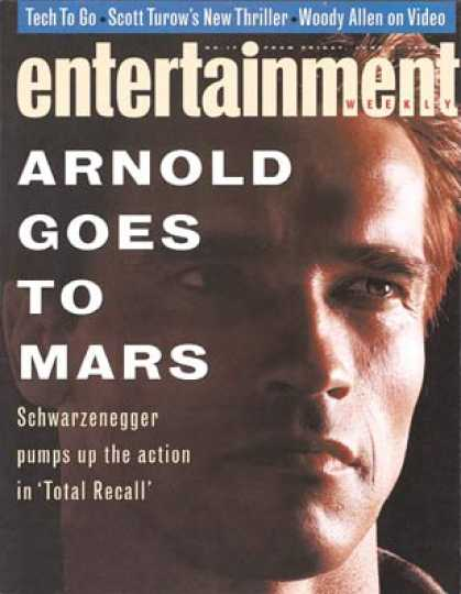 Entertainment Weekly - Arnold Schwarzenegger: Hollywood's Next Leading Man