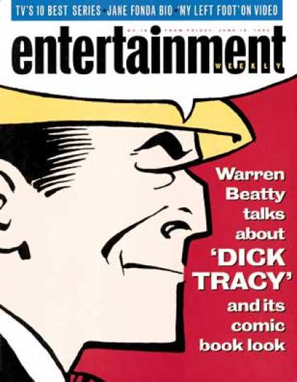 Entertainment Weekly - Strip Show the Comic Book Look of Dick Tracy