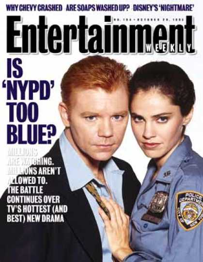 Entertainment Weekly - Shades of 'blue'
