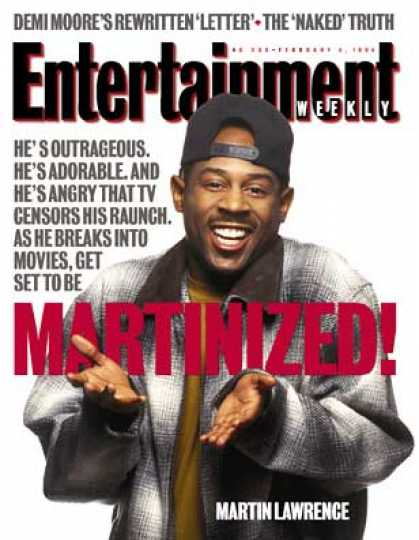 Entertainment Weekly - Does Martin Have Legs?