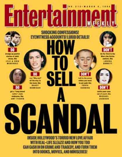 Entertainment Weekly - Scandal Inc.